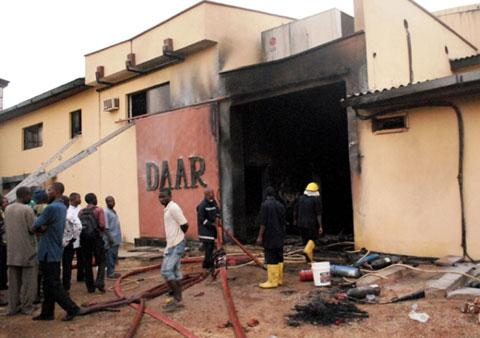 Fire inferno at AIT