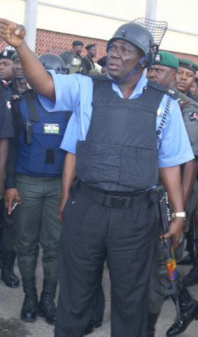 CP Akpoyibo... zero tolerance for crime in Lagos State.