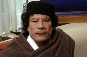 *Gaddafi