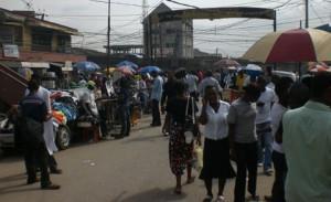 street traders