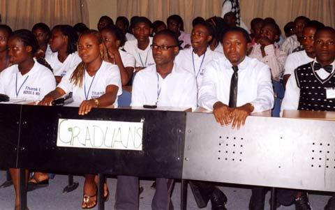 Youths must create solutions to Africa's leadership problems —Bangwell