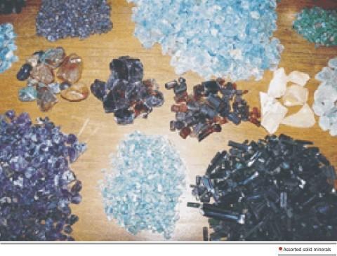 Solid minerals