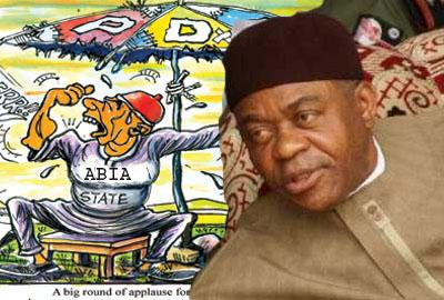 Abia governor Theodore Orji may