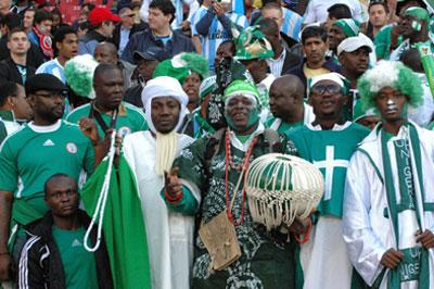 Nigeria Football Supporters Club in South Africa