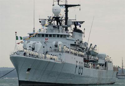 *Nigerian navy ship
