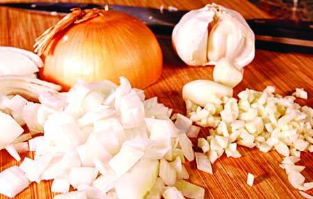 *Onion and Garlic