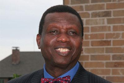 General Overseer of the Redeemed Christian Church of God (RCCG), Pastor Enoch Adejare Adeboye