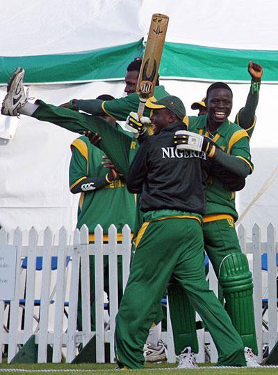 Nigerian cricketers