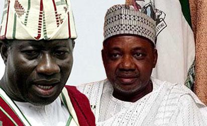 Goodluck Jonathan  and Namadi Sambo