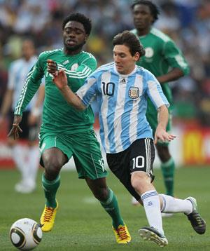 Messi pulls out of Nigeria match