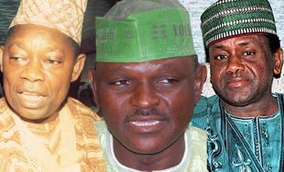 Late Abiola,  Al-Mustapha and  Late Abacha