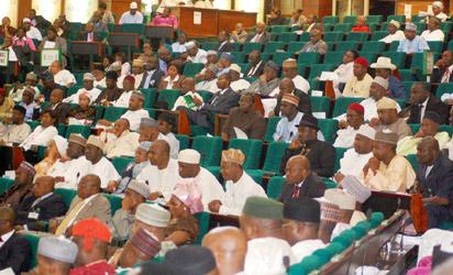 File Photo: Cross section of  House of Representatives members at the National Assembly in Abuja Photo : Gbemiga Olamikan