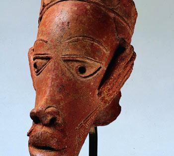 A Nok terra-cotta figure