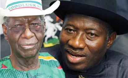 Chief Anenih & President Jonathan
