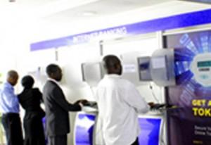 Customers using the Internet Banking platform