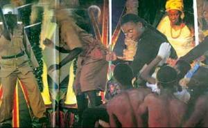 A scene from the dance drama, Nigeria The Beautiful