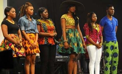 File photo: The Six MTN Project Fame finalists- Roy, Monica, Yvonne, Ese and Ruth in one of the previous editions.