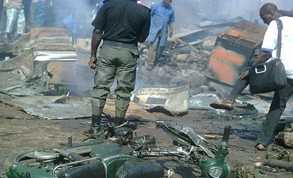 File photo: Eye Witness Photos of Kano multiple explosions