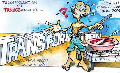 cartoon--Transformation