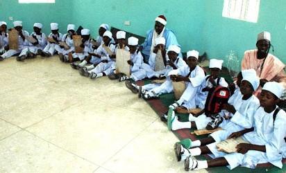 ...Cross section of Almajiri students