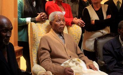 File photo: Nelson Mandela