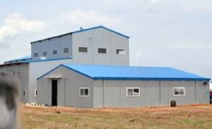 The 20,000 metric tonnes rice processing factory built by the Lagos State Government in Ikorodu, Lagos