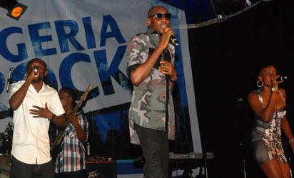 *TuFace on stage