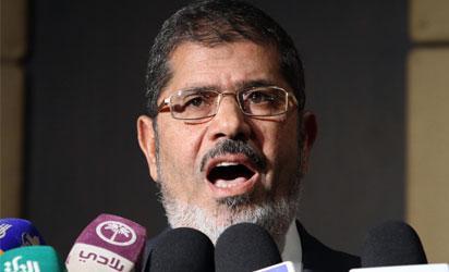 Egyptian President, Mohamed Morsi