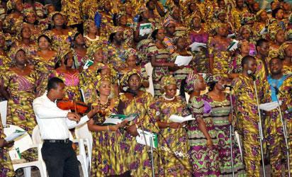 File photo: Church choir