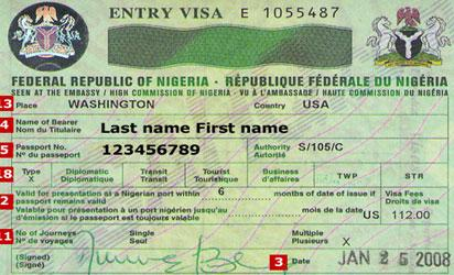 Nigerians in Diaspora do not pay for visa to travel to Nigeria except …
