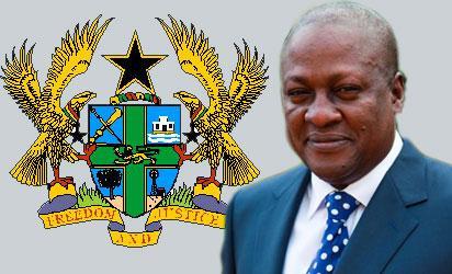 John Dramani Mahama Ghana's new President