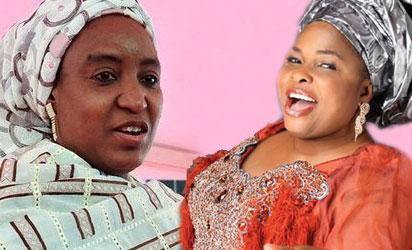 Turai Yar'Adua and Dame Patience Jonathan
