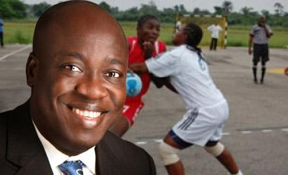 Sports Minister, Bolaji Abdullahi