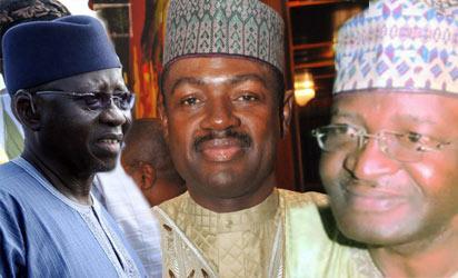 Gov Tanko Al-Makura; Labaran Maku and Senator Solomon Ewuga