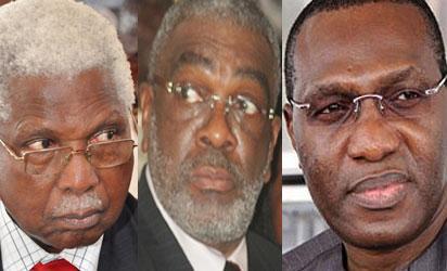 Ekwueme, Ben Obi and Andy Uba