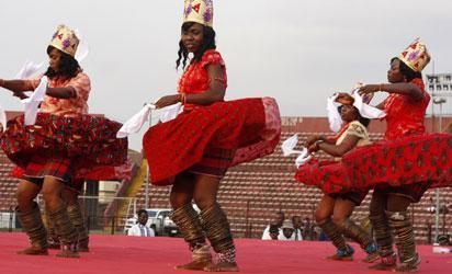 Ekere (rhythm of Tribes) performance