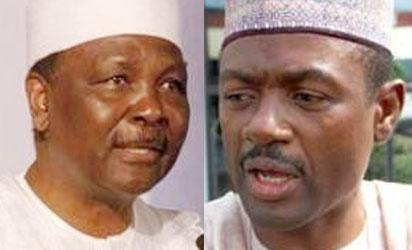 Former Head of State, General Yakubu Gowon and Information Minister, Labaran Maku