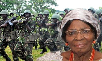 File Photo: OKONJO-IWEALA'S Mother Professor Kamene Okonjo