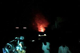 The fire at the NAFDAC  Oshodi Lagos warehouse
