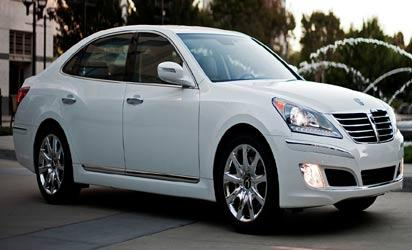 *Talk of the moment, Hyundai Equus Luxury Sedan that led the Hyundai family to rake awards in Strategic Vision's Total Value recently