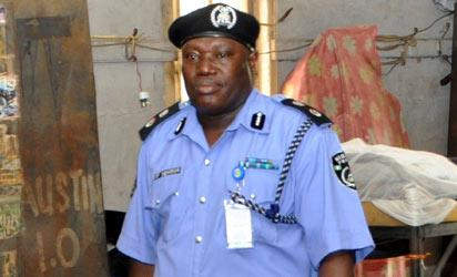 Commandant of the Ikeja Police College, Mr. Irimiya  Yerima