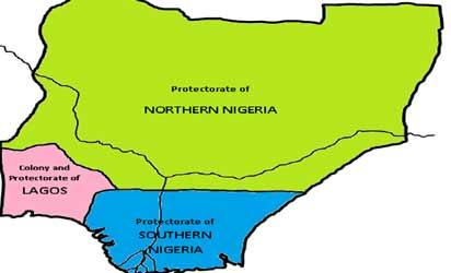 Map of Nigeria