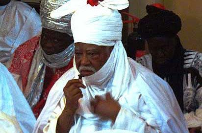 Emir of Kano, Ado Bayero Photo: AFP