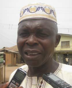 Baale of Adunbu, Oloye Olalekan Ogunjobi