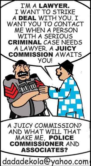 Police-lawyer