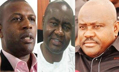 Princewill, Abe and Wike: Jostling for Amaechi's job