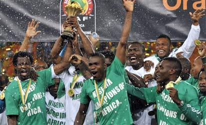 Super Eagles chief after winning the 2013 Afcon final