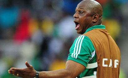 Coach Stephen Keshi has