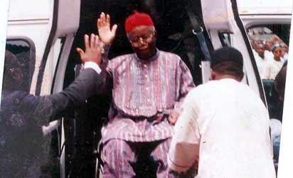 Chinualumogu  Achebe, Professor of English, father of modern African literature