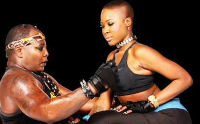 Charly Boy and daughter, Dominique